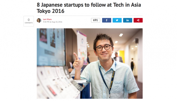 Tech in Asia featured us on their blog